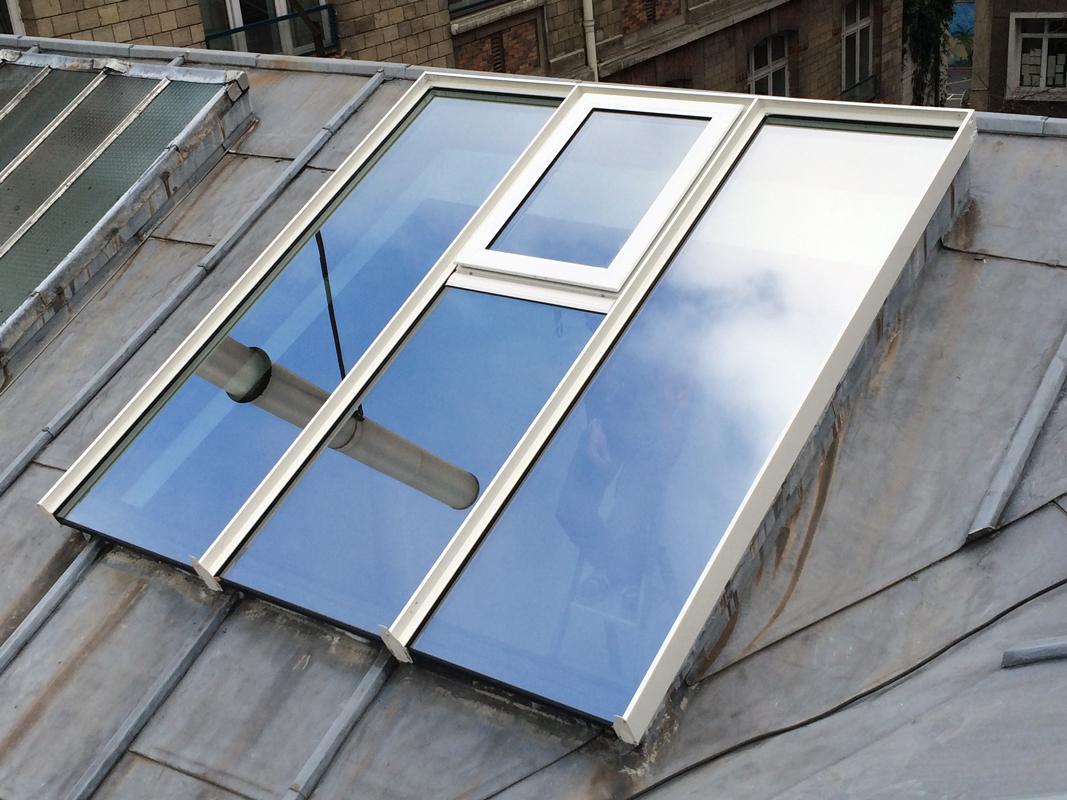 Bien connu Verrière sur toiture zinc - Recrosio RT69